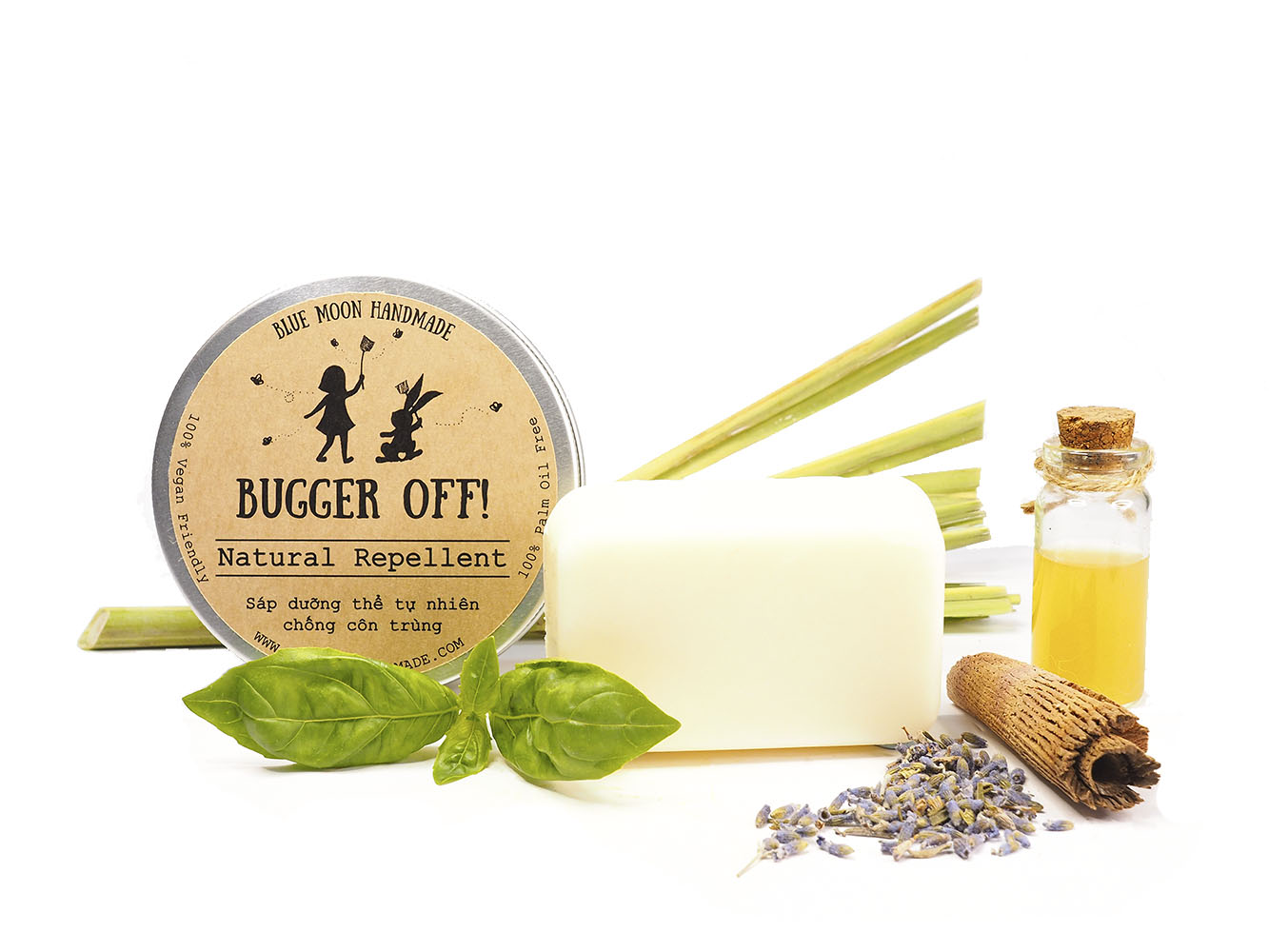 Bugger Off! Insect Repellent Blue Moon Handmade