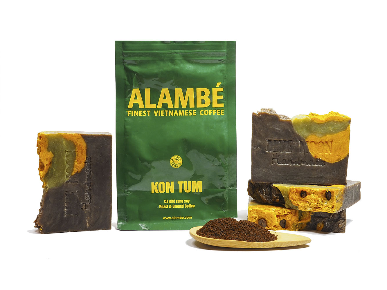 Blue Moon Handmade Artisan Soap Kon Tum Coffee